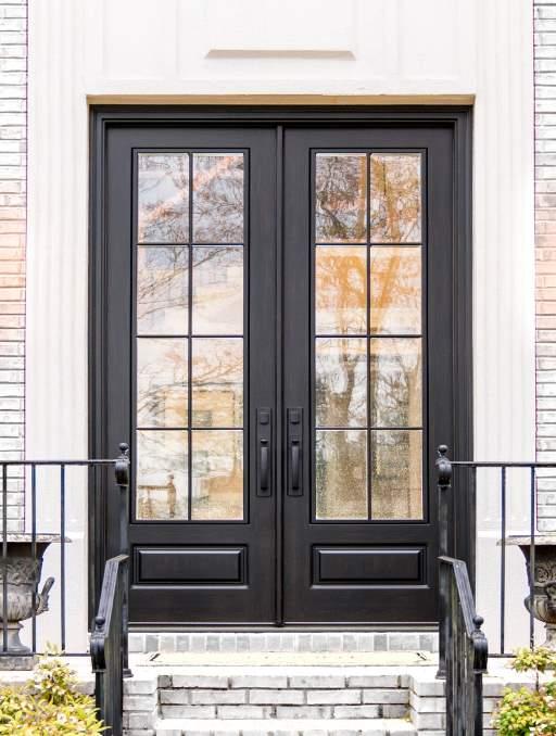 Black Modern Front Door