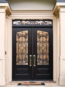 Chateau-Iron-Style-Front-Door-Entry-Doors