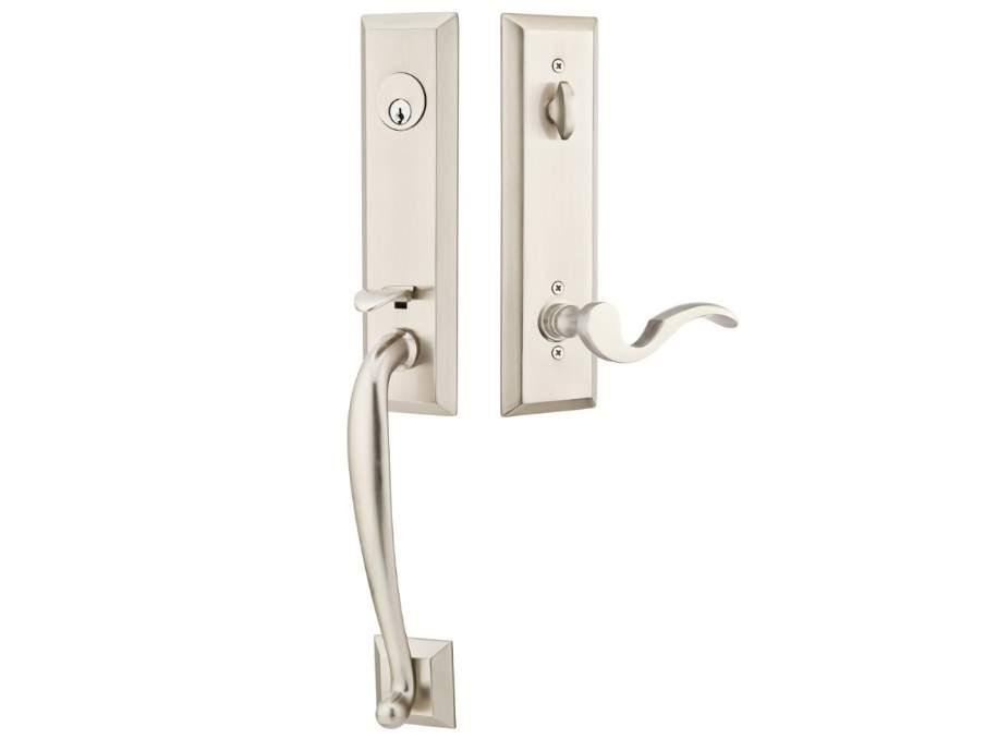 Adams Door Locksets Nickel