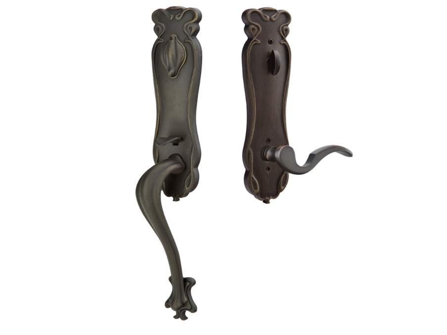 Door Locksets Medium Bronze Patina