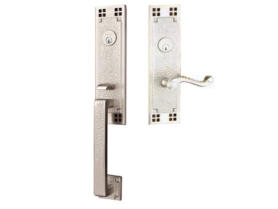 Door Locksets Satin Nickel Half