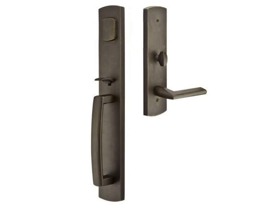 Door Locksets Bronze Patina