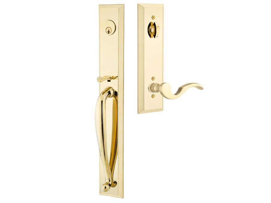 Door Locksets Polished Brass