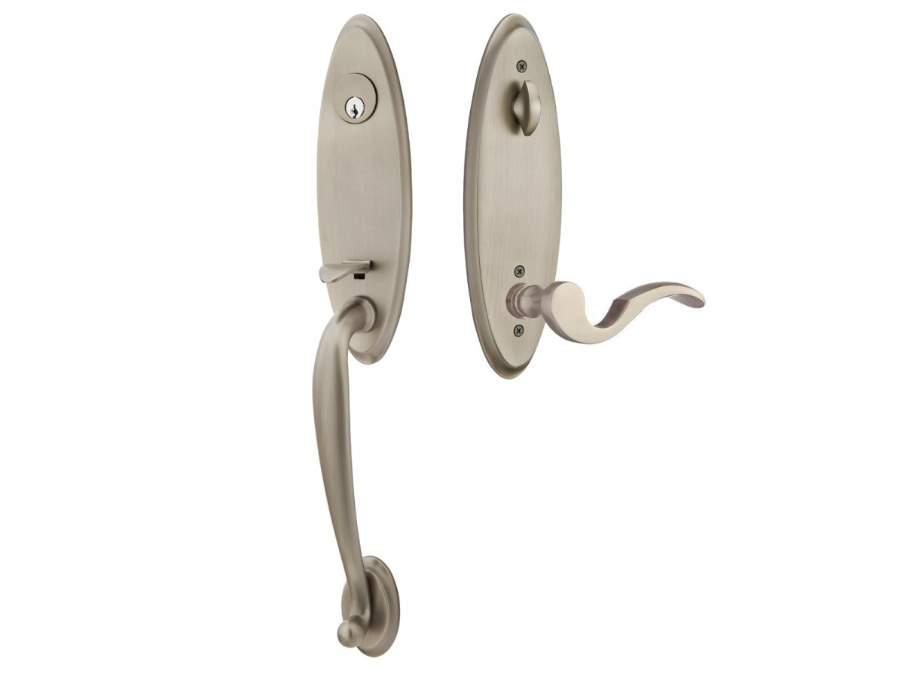 Door Locksets Pewter