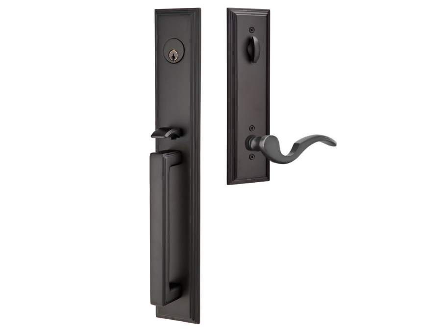 Door Locksets Flat Black