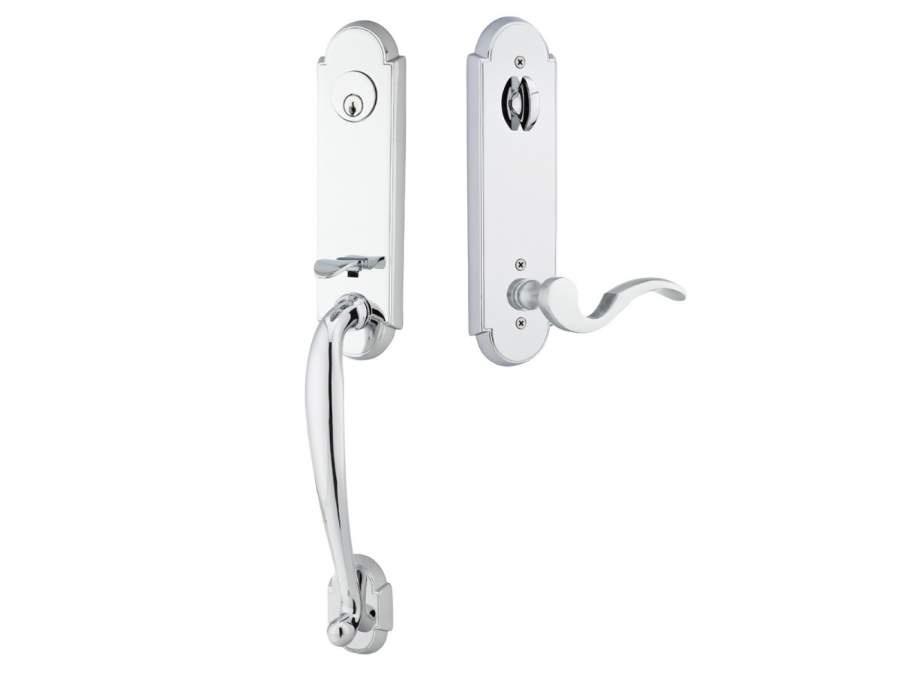 Door Locksets Polished Chrome