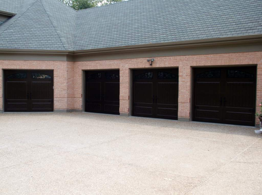 Garage-Door-Beautiful-Custom-Contemporary-Modern-Dark-Three-and-Single-Garage-Door-With-Design-Pattern-Bricks-19.jpg