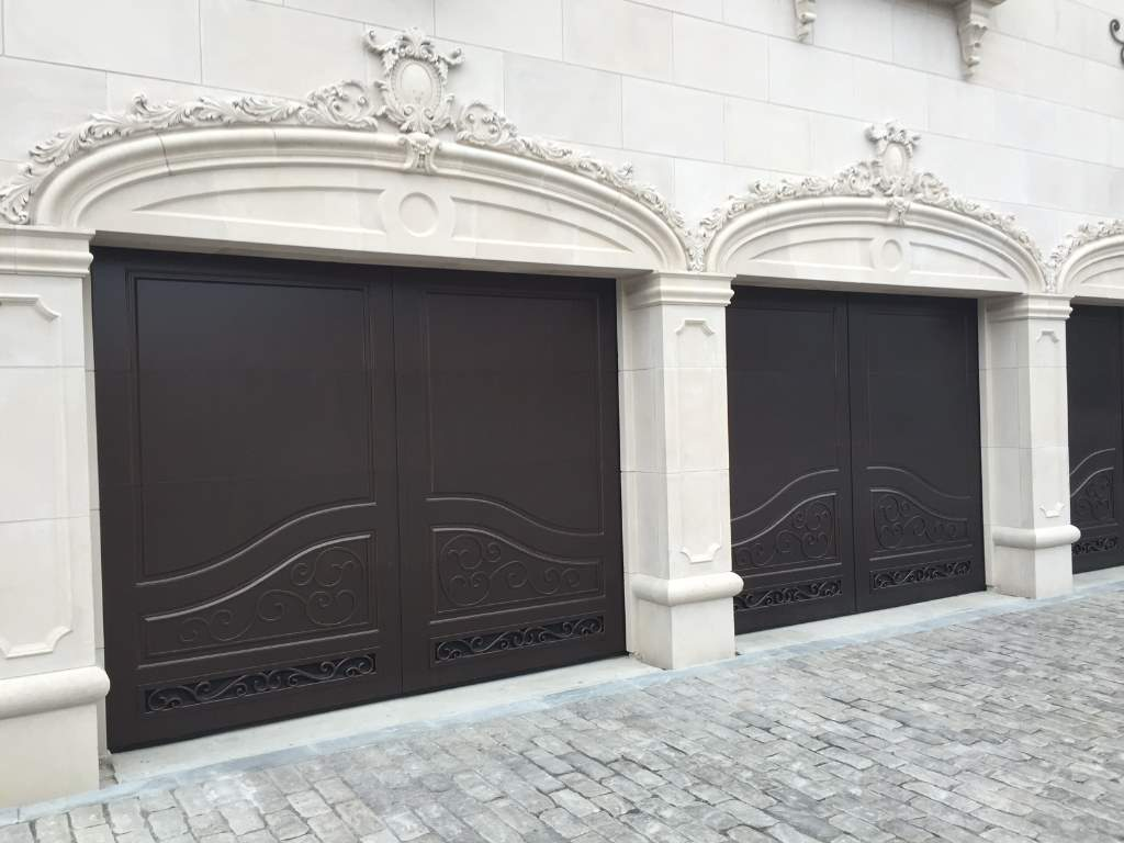 Garage-Door-Beautiful-Custom-Contemporary-Modern-Dark-Three-and-Single-Garage-Door-With-Design-Solid-Pattern-30.jpg